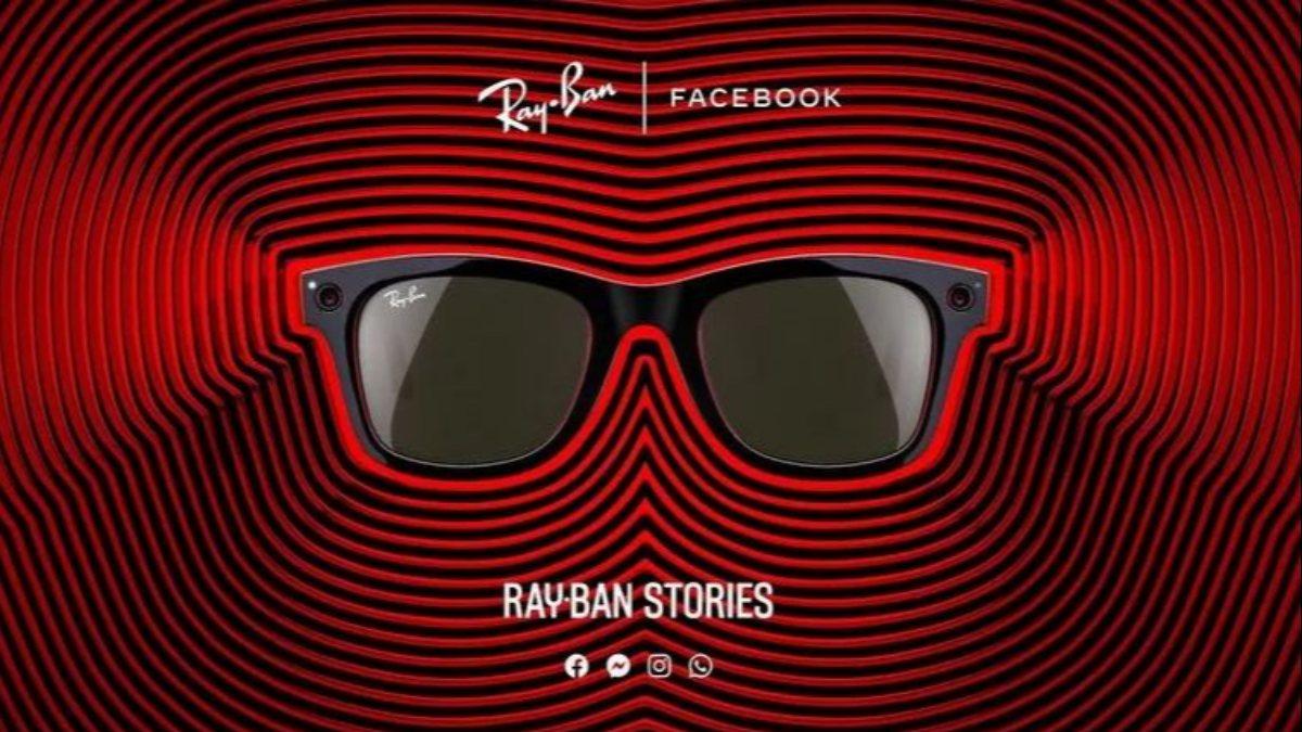 Facebookun akıllı gözlüğü Ray-Ban Stories tanıtıldı