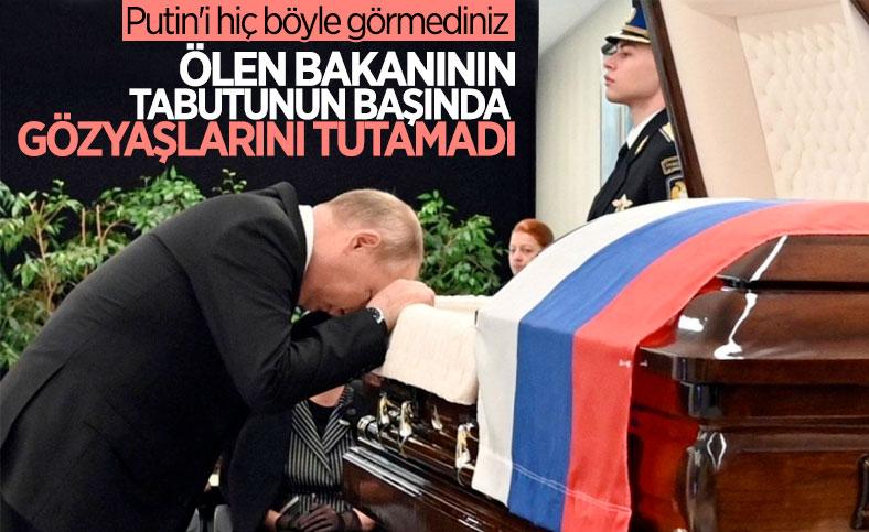 Vladimir Putin, hayatını kaybeden bakanın ardından gözyaşı döktü