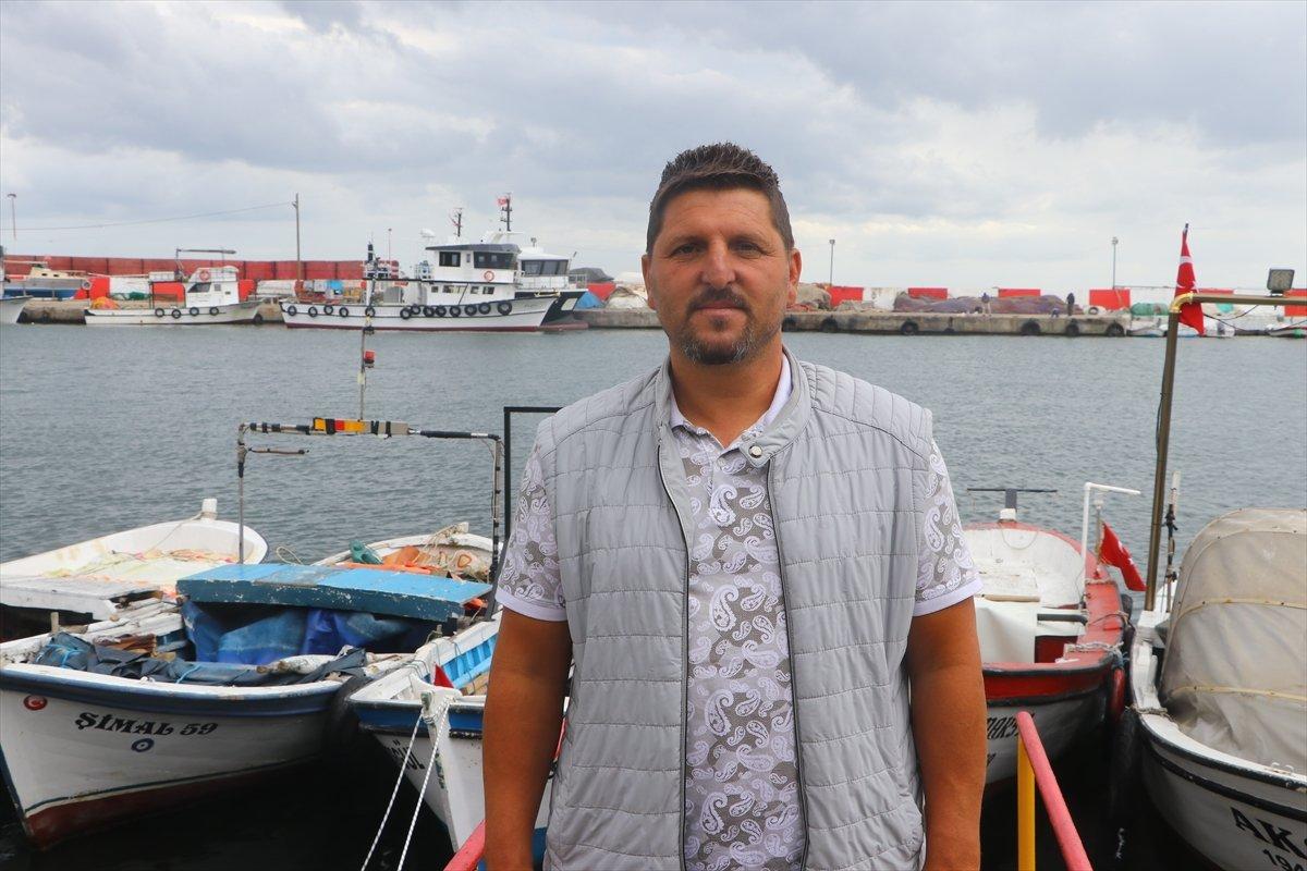 Tekirdağ daki balıkçıların zorunlu  poyraz  arası bugün bitiyor #4