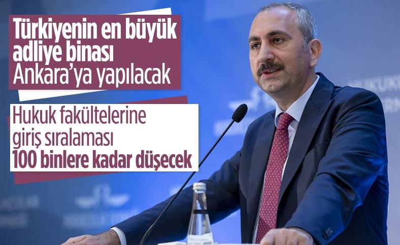 Abdulhamit Gül, Adli Yıl Açılış Programı'nda konuştu