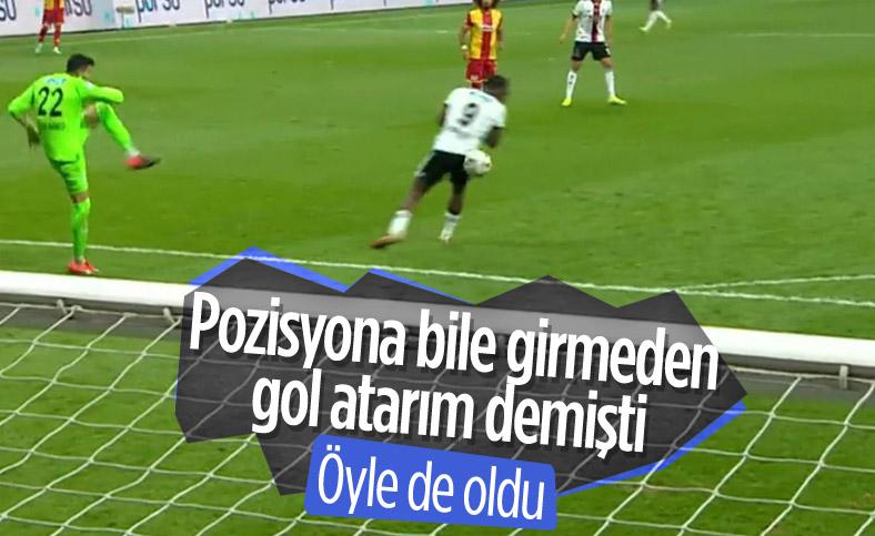 Beşiktaş'ta Batshuayi'nin poposuyla attığı gol gündem oldu