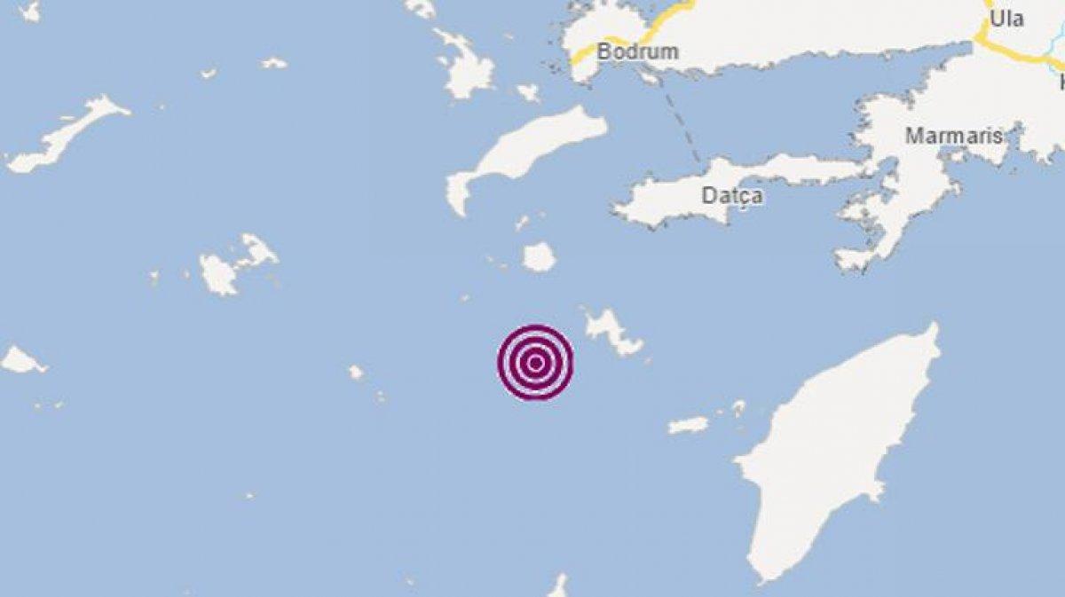 Datça açıklarında 4.4 büyüklüğünde deprem meydana geldi #2