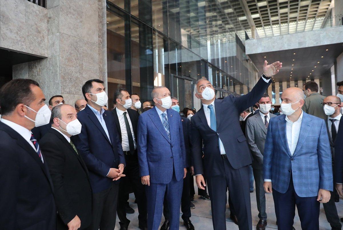 Cumhurbaşkanı Erdoğan dan AKM ye ziyaret #6