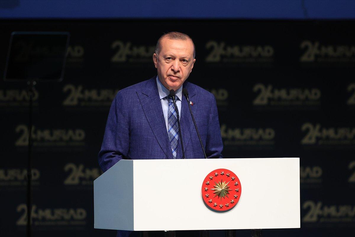 Cumhurbaşkanı Erdoğan: İHA ları ve SİHA ları biz üretir hale geldik #1