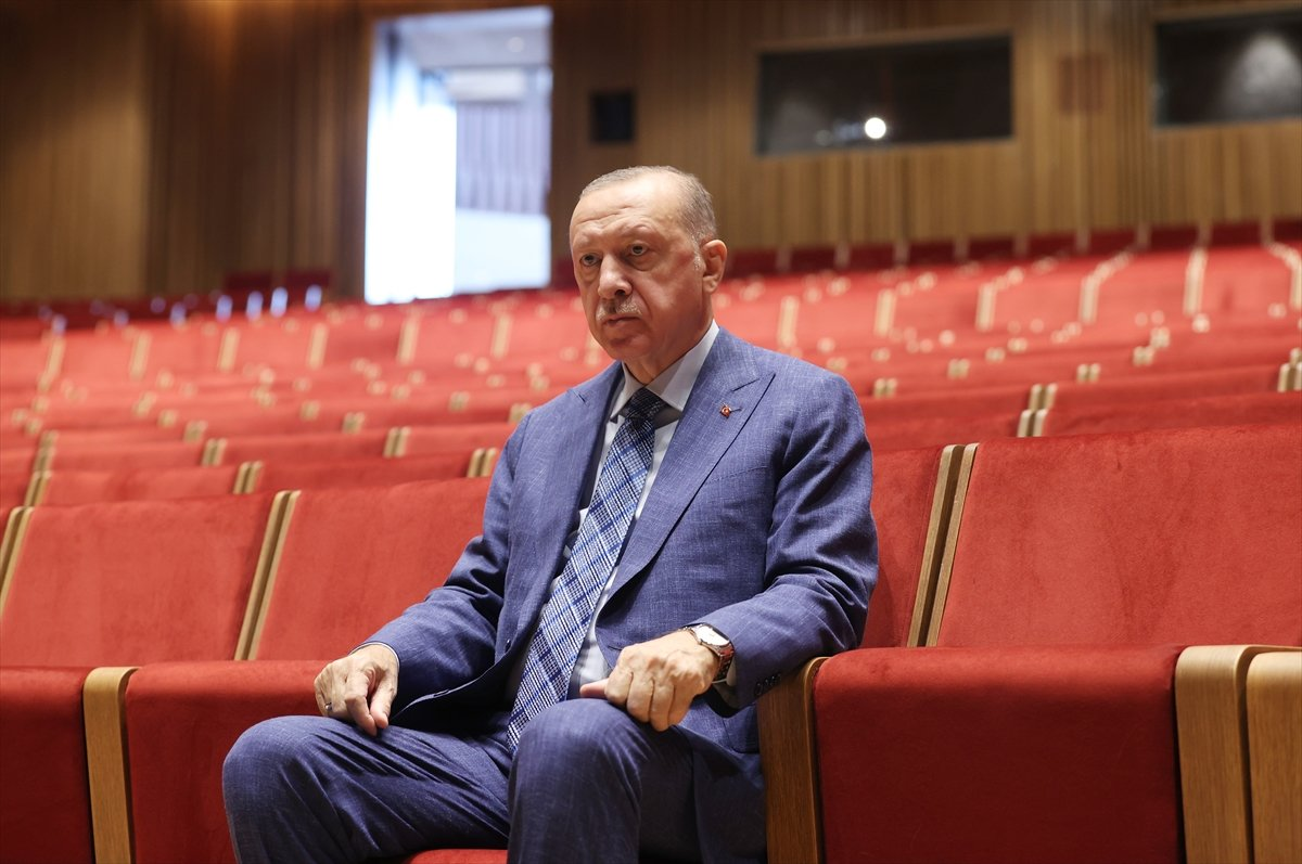 Cumhurbaşkanı Erdoğan dan AKM ye ziyaret #5
