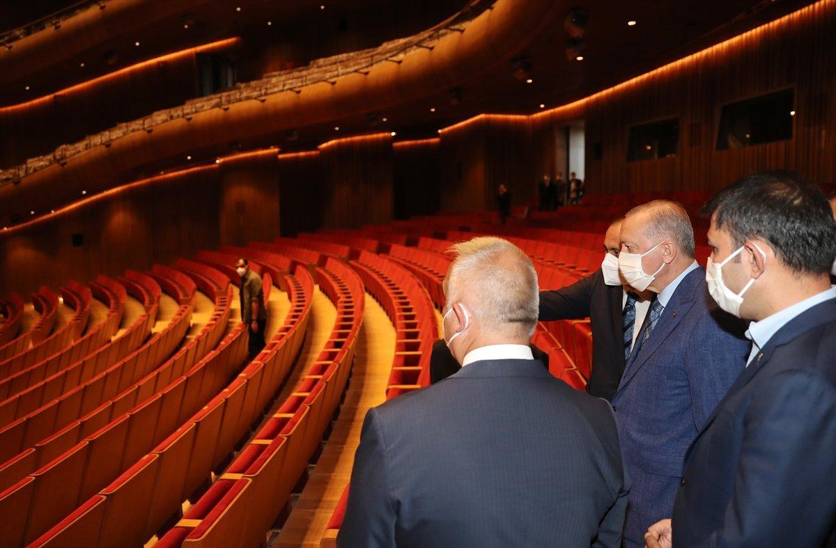Cumhurbaşkanı Erdoğan dan AKM ye ziyaret #4