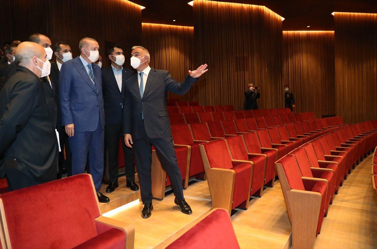 Cumhurbaşkanı Erdoğan dan AKM ye ziyaret #3
