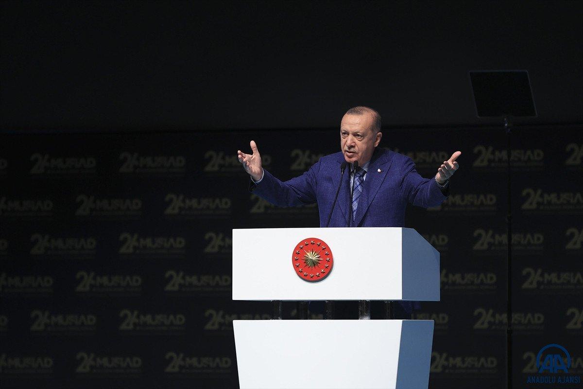 Cumhurbaşkanı Erdoğan dan sel bölgelerindeki konutlara ilişkin açıklama #1