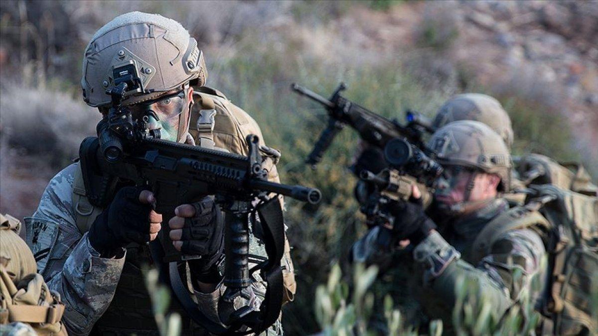 Irak'ın kuzeyinde 2 PKK'lı terörist etkisiz hale getirildi  #1