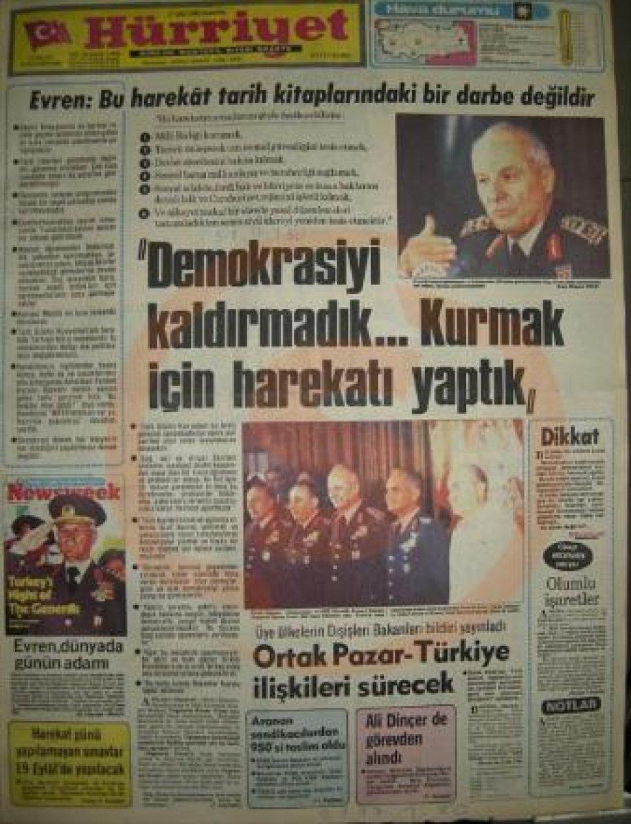 Vakanüvis yazdı: 12 Eylül basınını hatırlayalım  #4