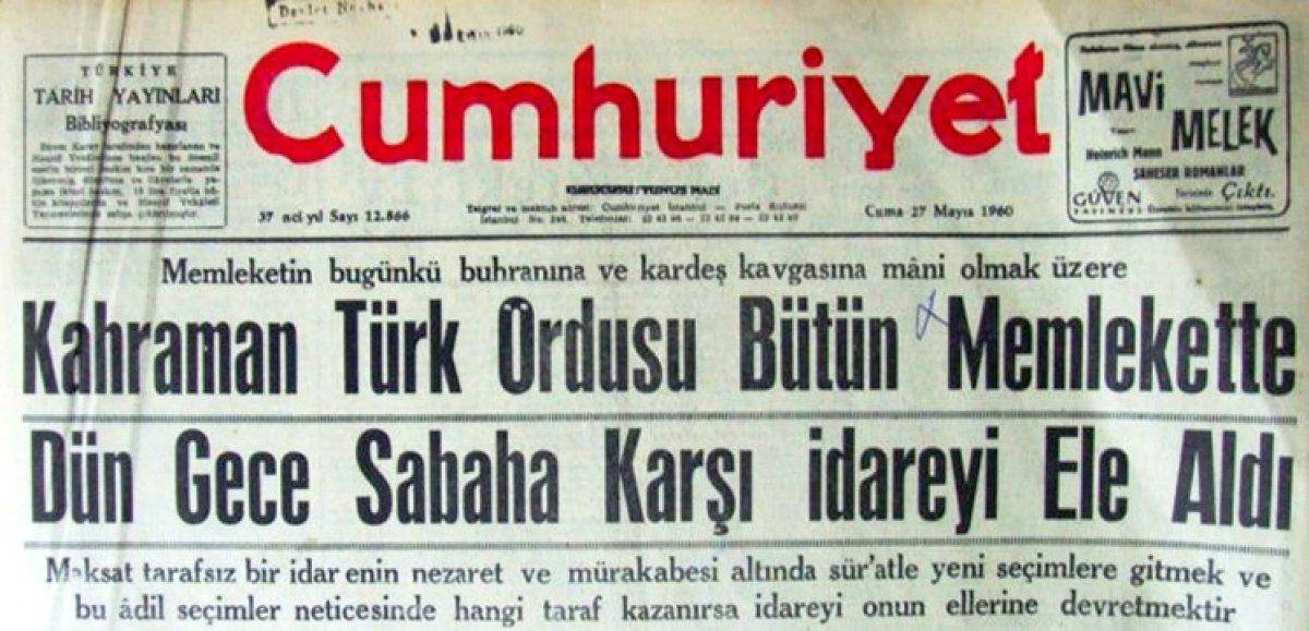 Vakanüvis yazdı: 12 Eylül basınını hatırlayalım  #6
