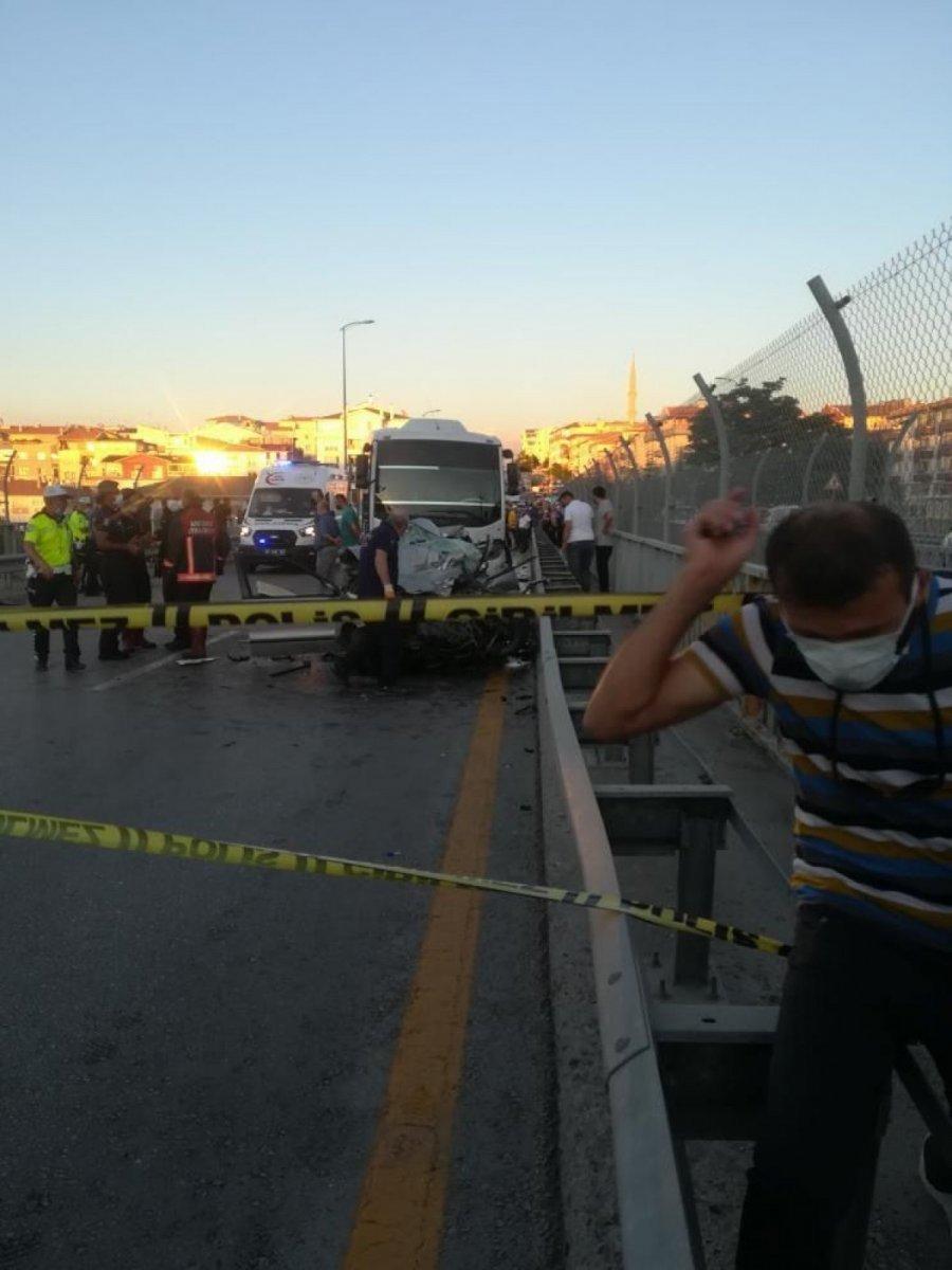 Ankara da feci kaza: 5 ölü #3