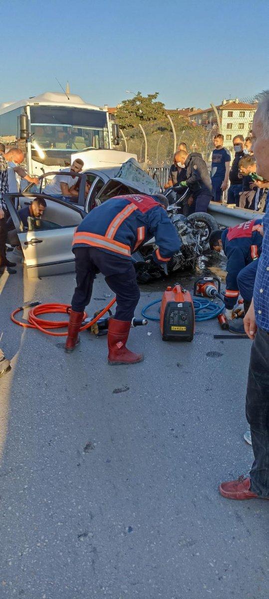 Ankara da feci kaza: 5 ölü #4