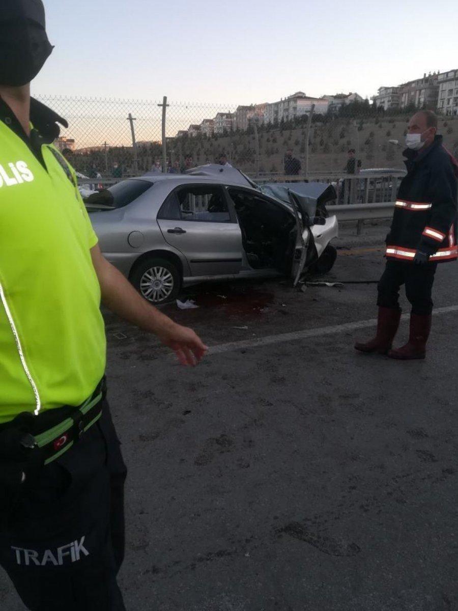 Ankara da feci kaza: 5 ölü #2