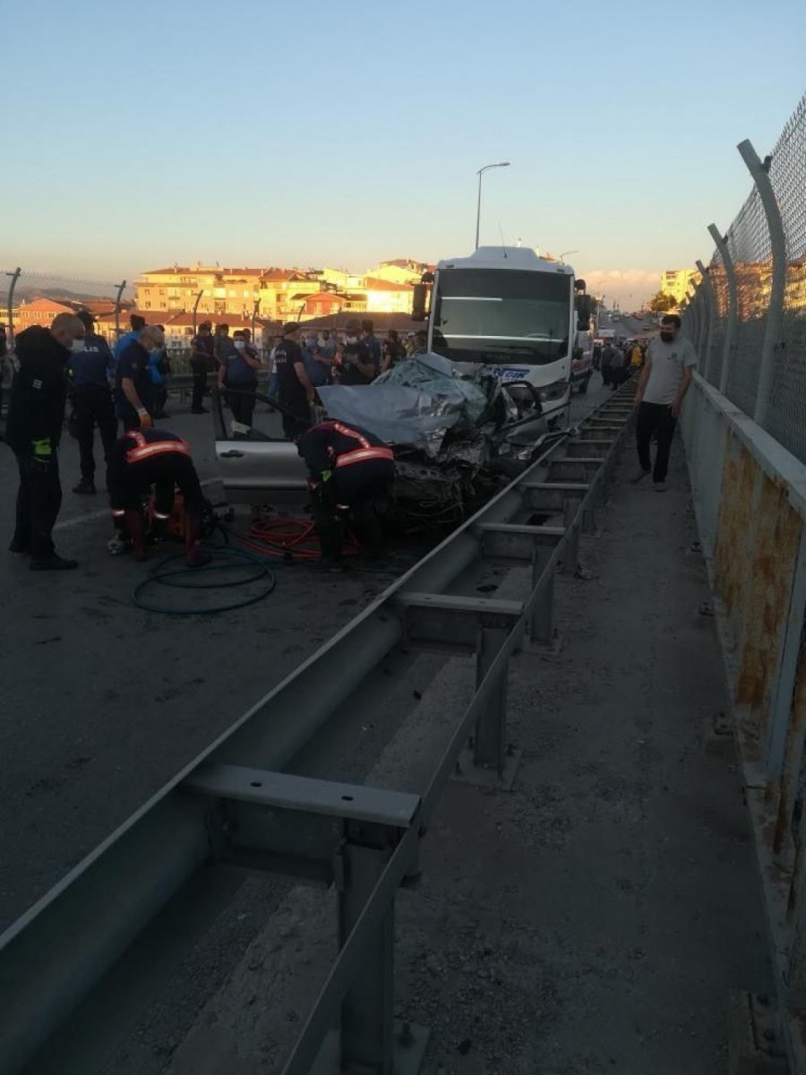 Ankara da feci kaza: 5 ölü #1