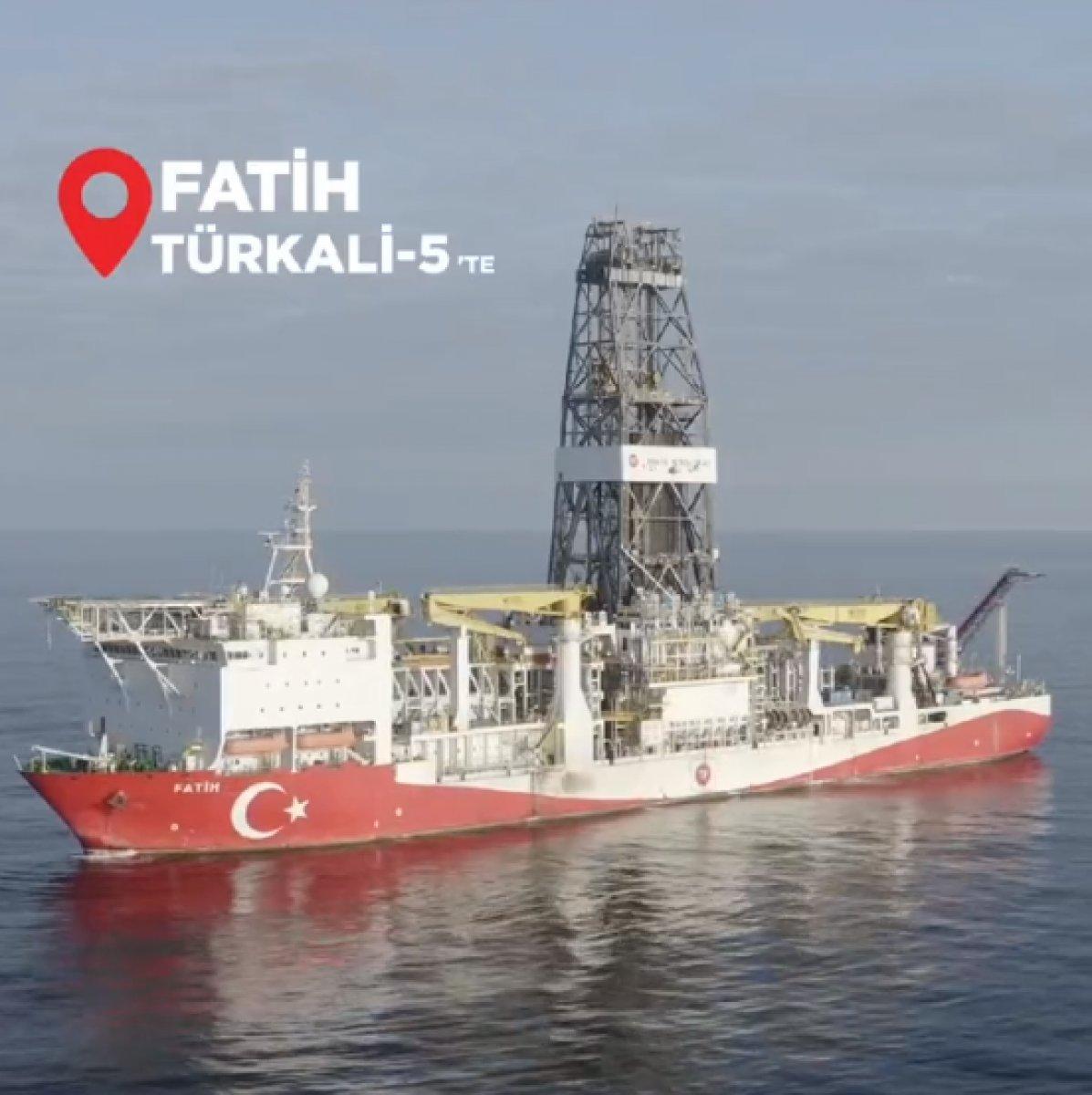 Fatih, Türkali-5 te sondaja başladı #1