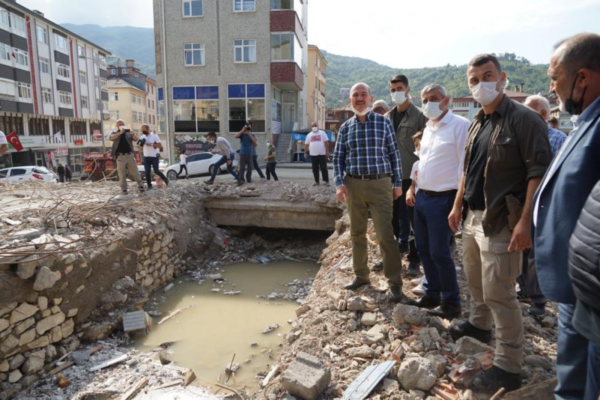 Sel bölgelerine toplam 720 milyon lira nakdi yardım yapıldı #5