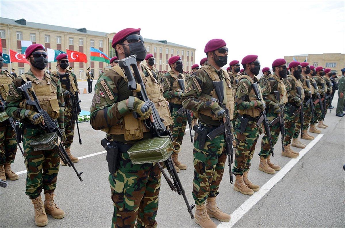 Türkiye, Azerbaycan ve Pakistan özel kuvvetlerinden ortak tatbikat #1