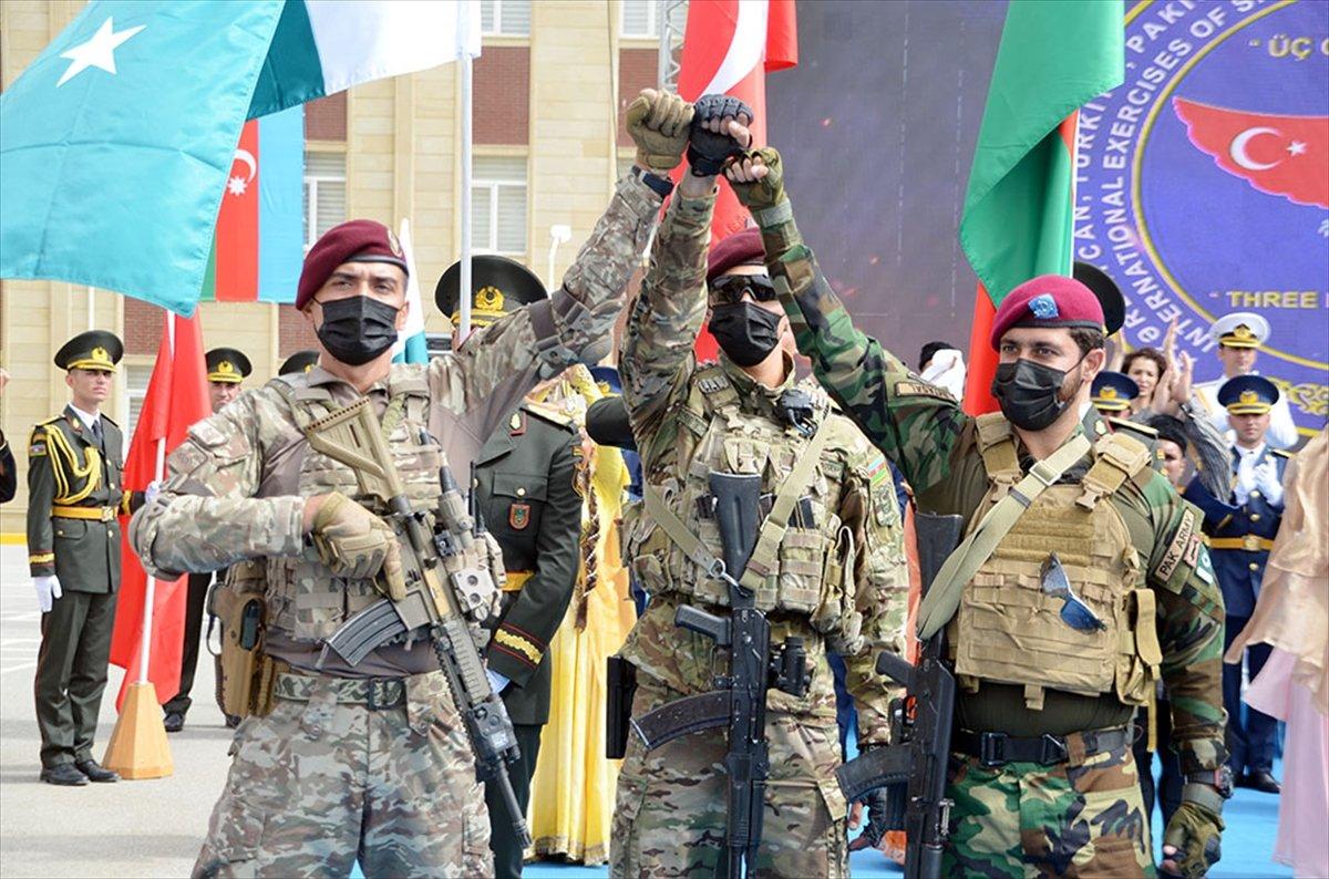 Türkiye, Azerbaycan ve Pakistan özel kuvvetlerinden ortak tatbikat #5