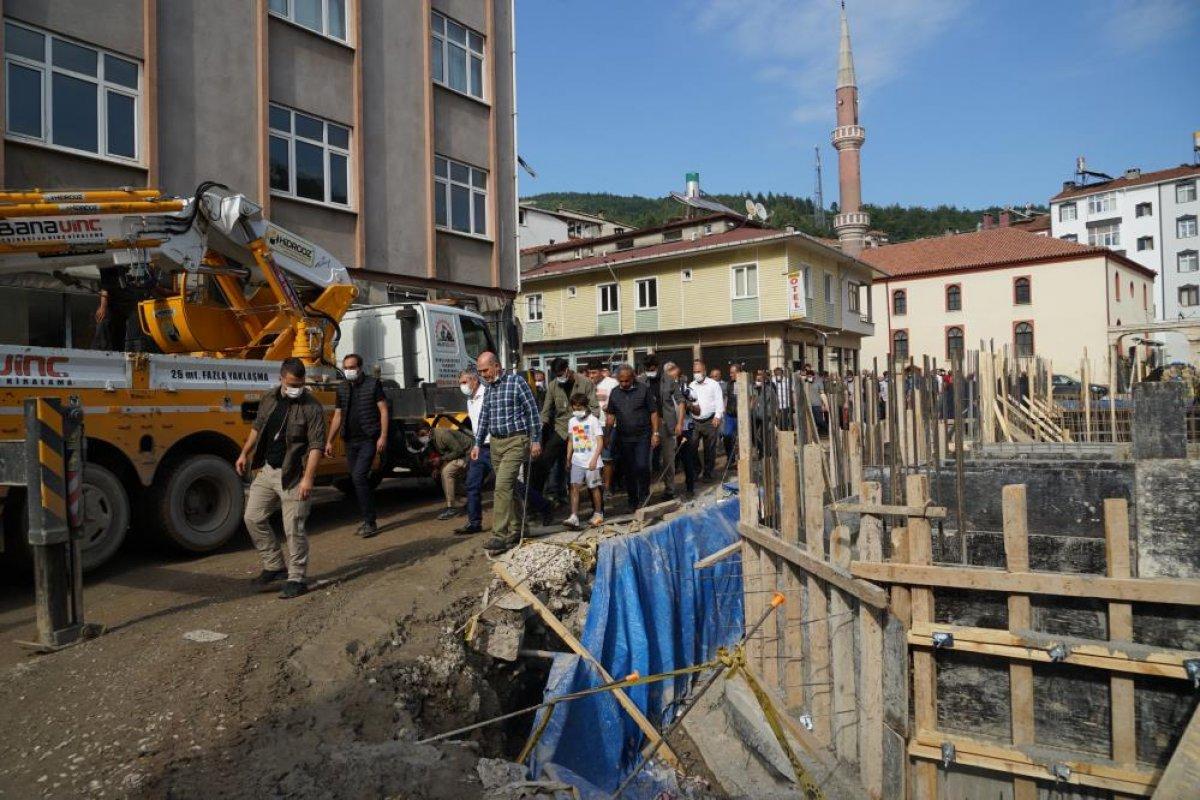 Sel bölgelerine toplam 720 milyon lira nakdi yardım yapıldı #4