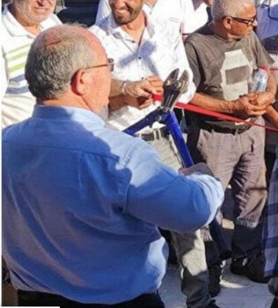 CHP li Datça Belediyesi Sanayi Ağacı heykelinin açılışını yaptı #2