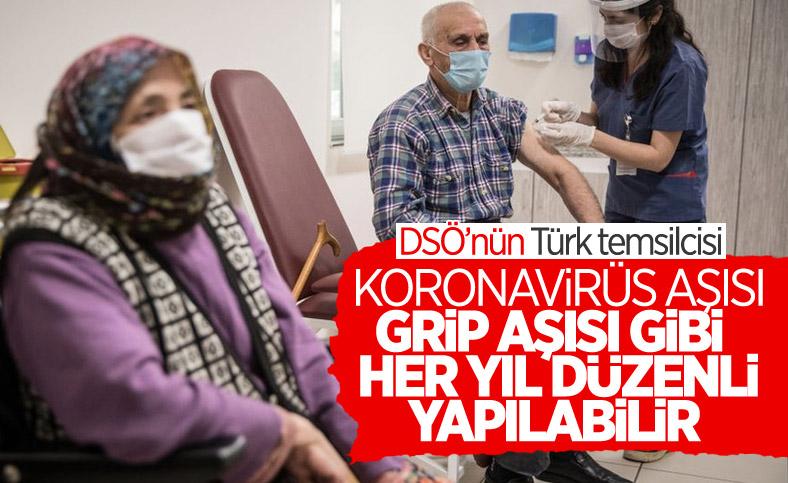 Dünya Sağlık Örgütü'nün Türk uzmanı: Koronavirüs aşısı, grip gibi düzenli uygulanabilir