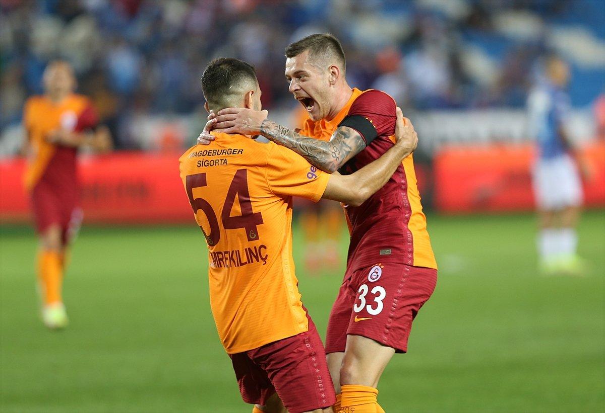 Trabzonspor-Galatasaray derbisinde beraberlik var #1