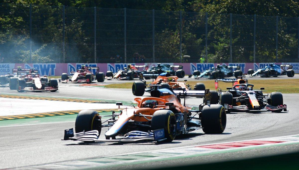 Formula 1 İtalya Grand Prix sini Ricciardo kazandı #2