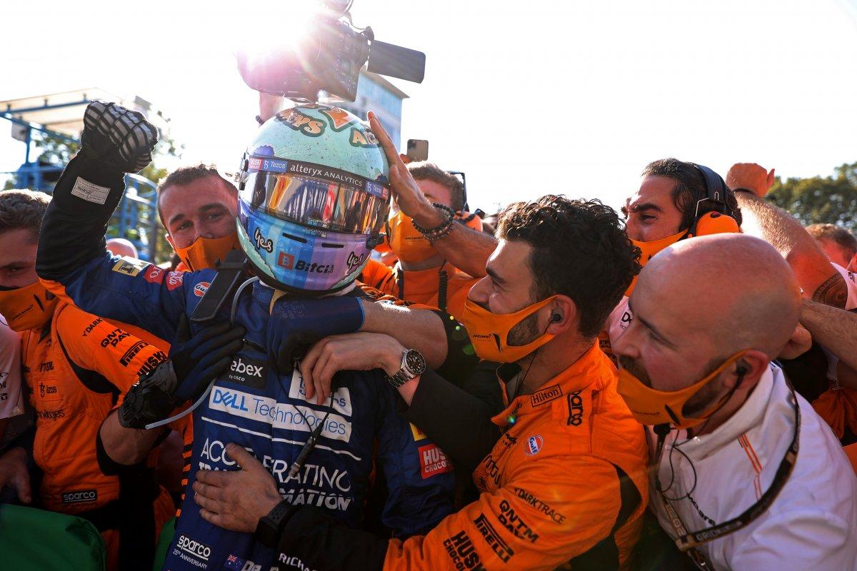 Formula 1 İtalya Grand Prix sini Ricciardo kazandı #10
