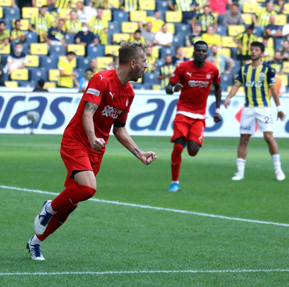 Fenerbahçe, Sivasspor la berabere kaldı #7