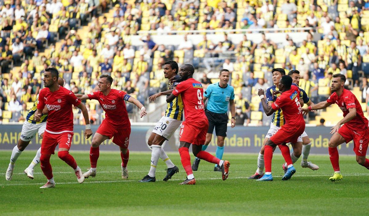 Fenerbahçe, Sivasspor la berabere kaldı #8