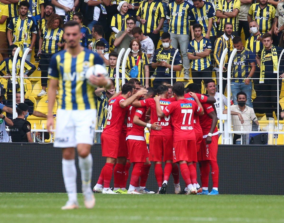 Fenerbahçe, Sivasspor la berabere kaldı #5