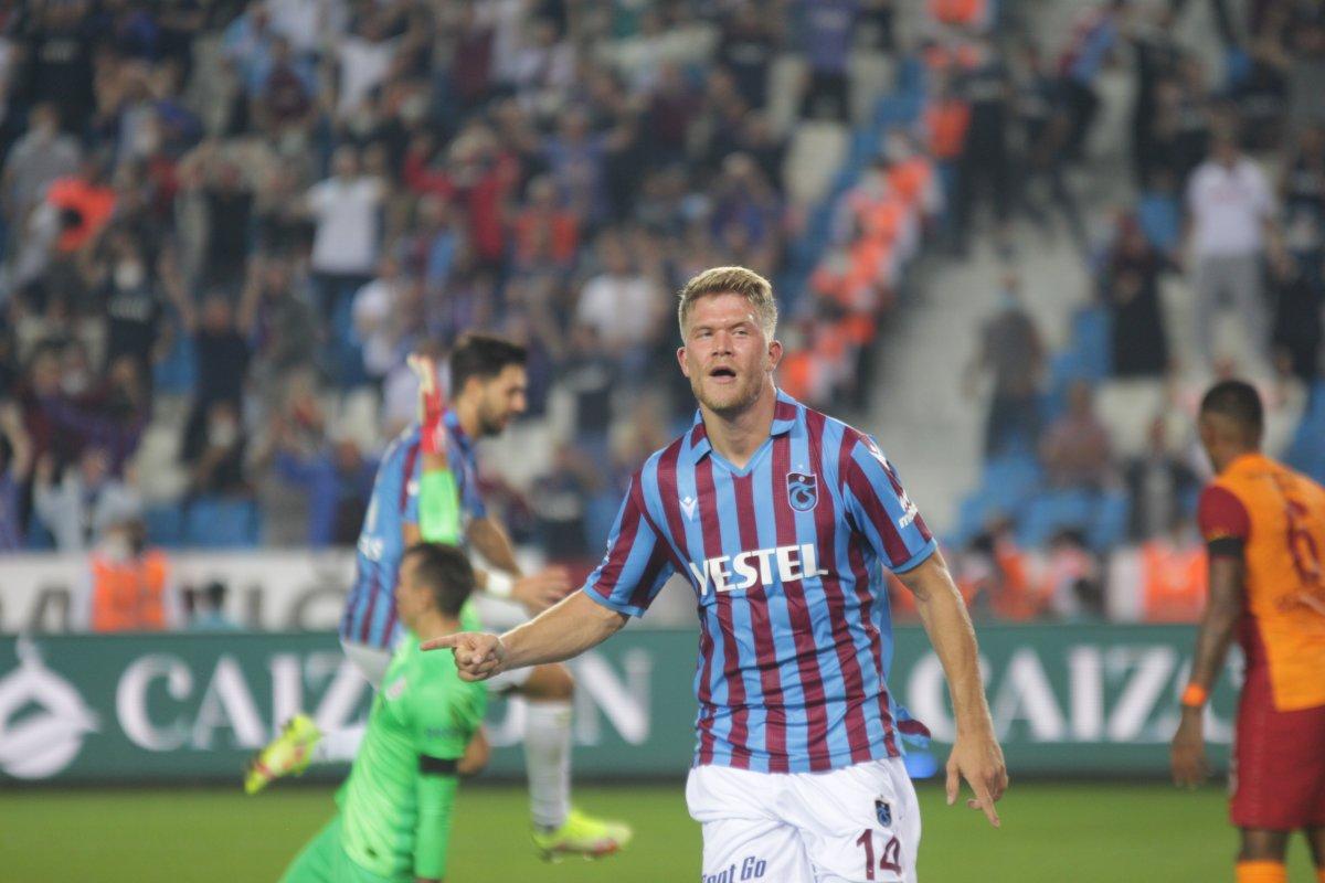 Trabzonspor-Galatasaray derbisinde beraberlik var #2