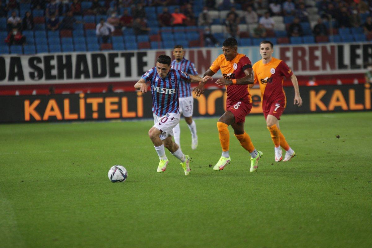 Trabzonspor-Galatasaray derbisinde beraberlik var #3