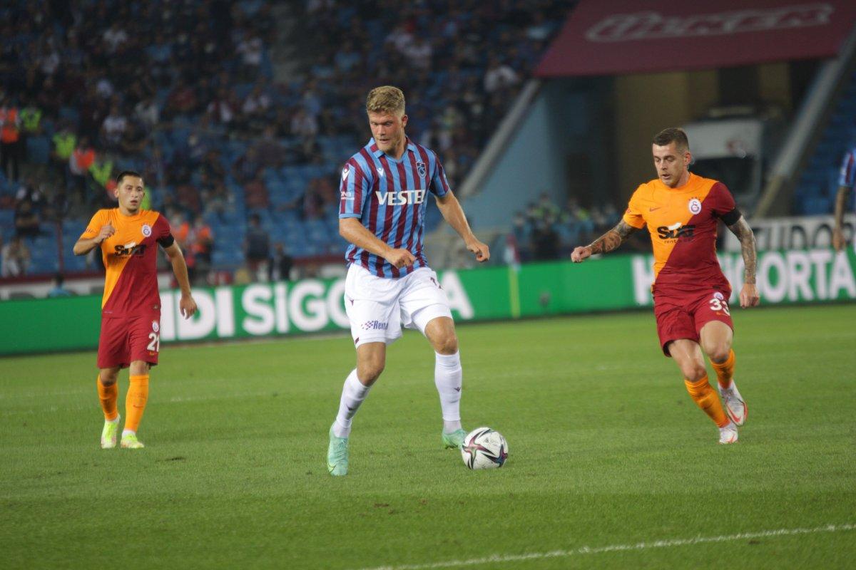Trabzonspor-Galatasaray derbisinde beraberlik var #4