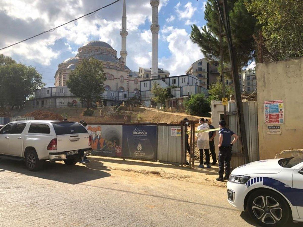Sancaktepe'de İBB nin metro inşaat alanında göçük yaşandı #1