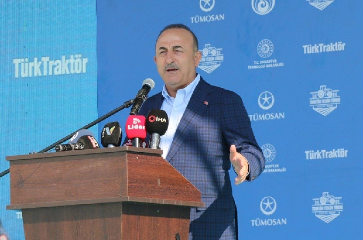 Dışişleri Bakanı Mevlüt Çavuşoğlu mültecilerin gönderilmesi ile ilgili konuştu #3