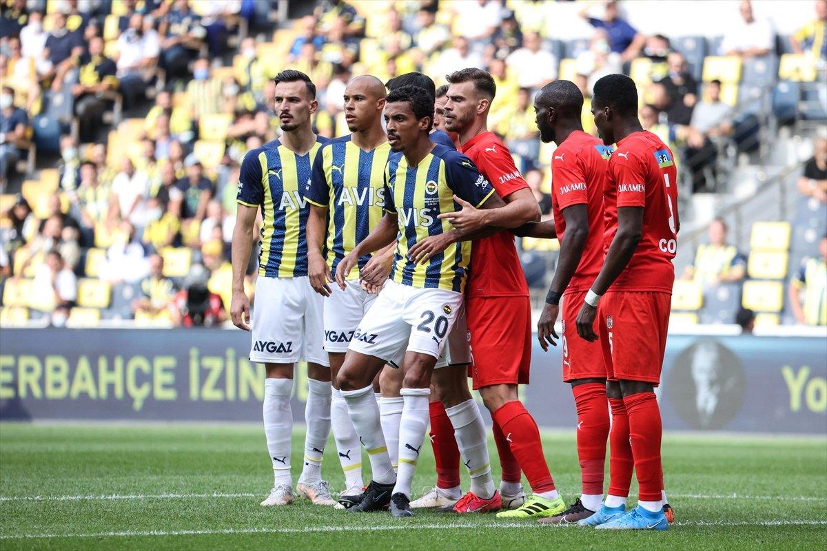Fenerbahçe, Sivasspor la berabere kaldı #2
