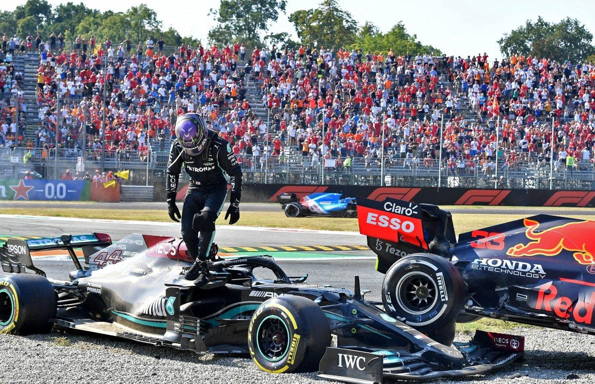 Formula 1 İtalya Grand Prix sini Ricciardo kazandı #5