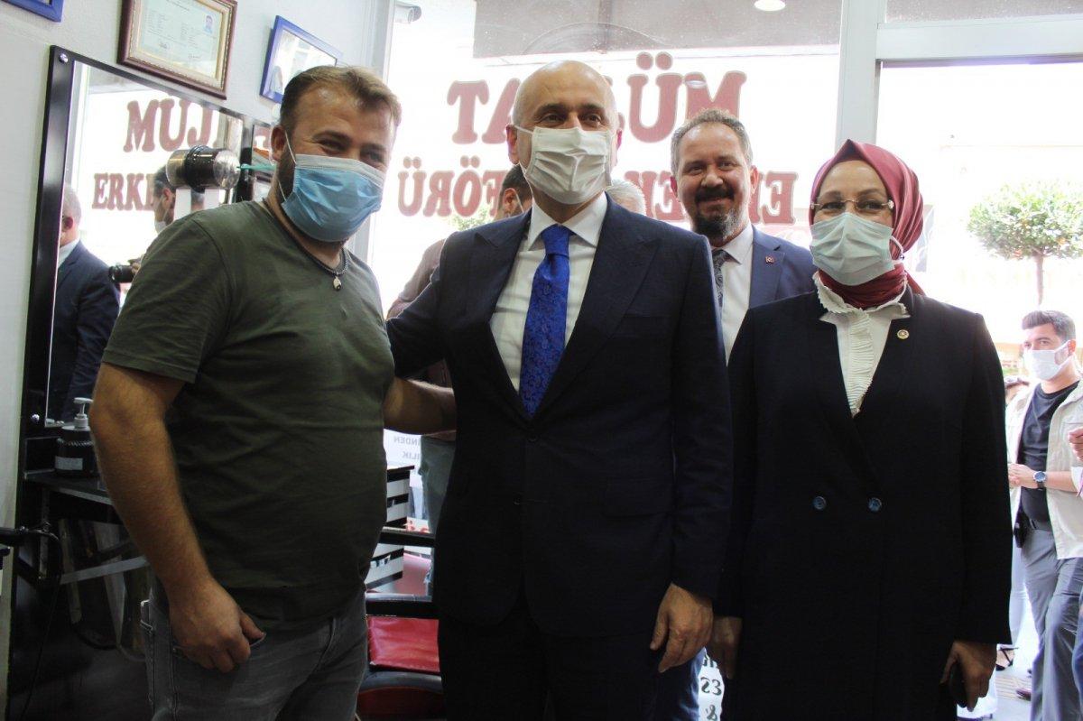 Adil Karaismailoğlu'nun Tekirdağ'da berber ile güldüren diyaloğu #3