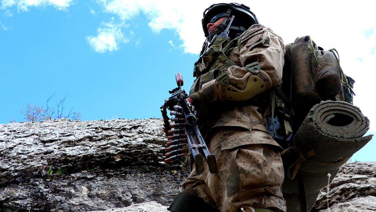 Fırat Kalkanı bölgesinde 4 terörist öldürüldü #1