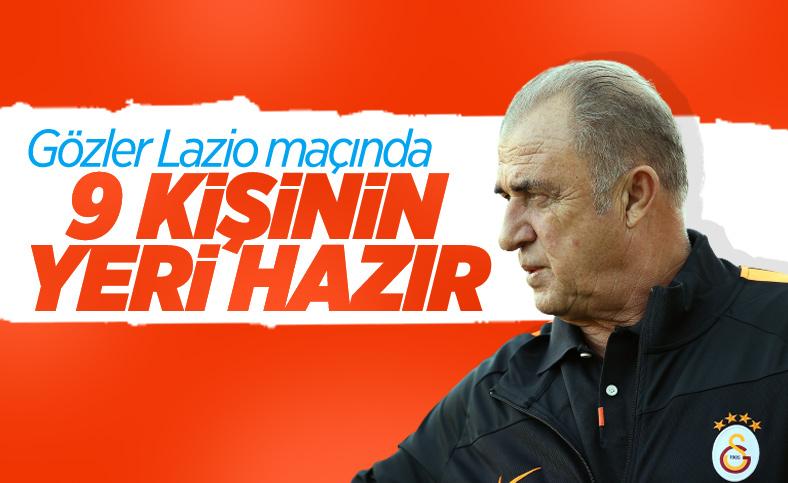 Galatasaray'da Lazio maçı hazırlıkları başladı