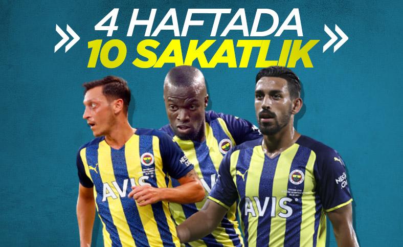 Fenerbahçe'de sakatlıklar erken başladı