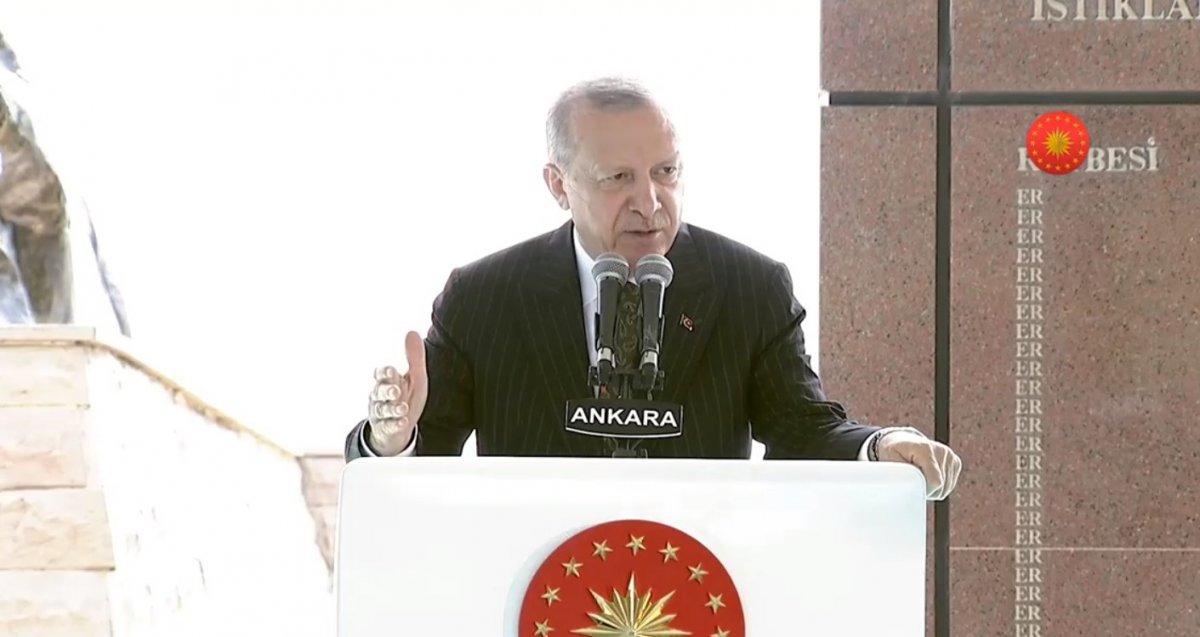 Cumhurbaşkanı Erdoğan, Sakarya Zaferi nin 100 üncü yıl kutlamasında #2