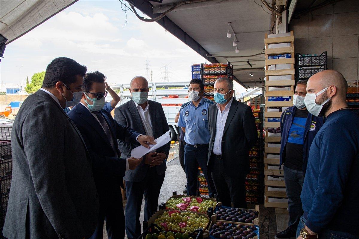 Erdoğan ın sözleri sonrası market ve hallerde denetimler başladı #1