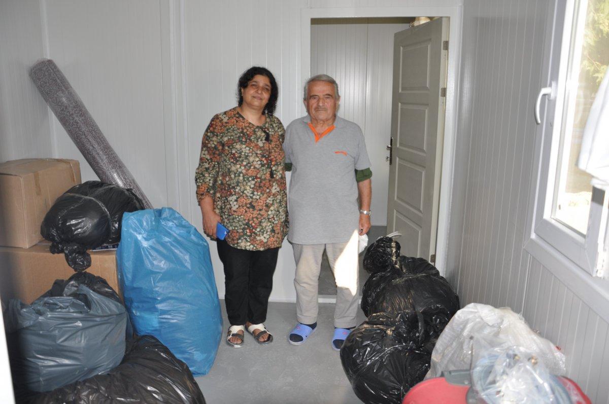 Kastamonu'da, selzedeler için  konteyner evler inşa ediliyor #11