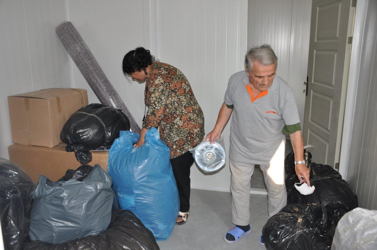 Kastamonu'da, selzedeler için  konteyner evler inşa ediliyor #2