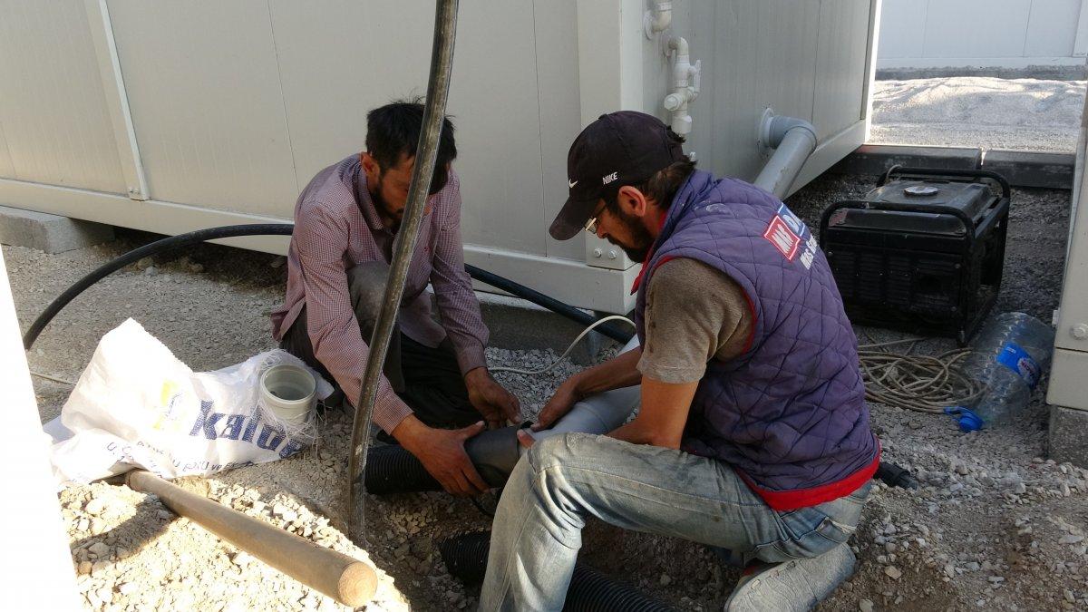 Kastamonu'da, selzedeler için  konteyner evler inşa ediliyor #8