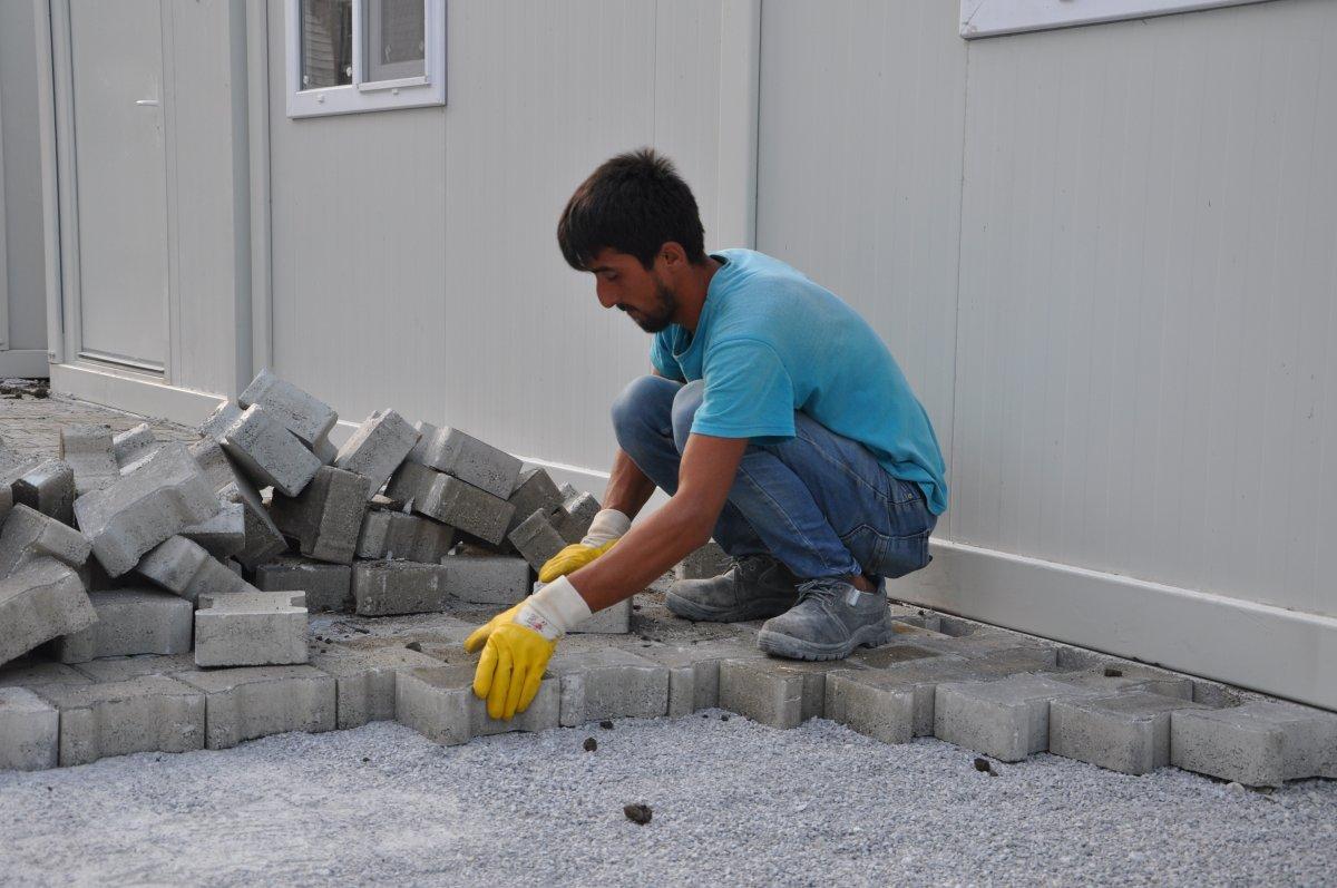 Kastamonu'da, selzedeler için  konteyner evler inşa ediliyor #7