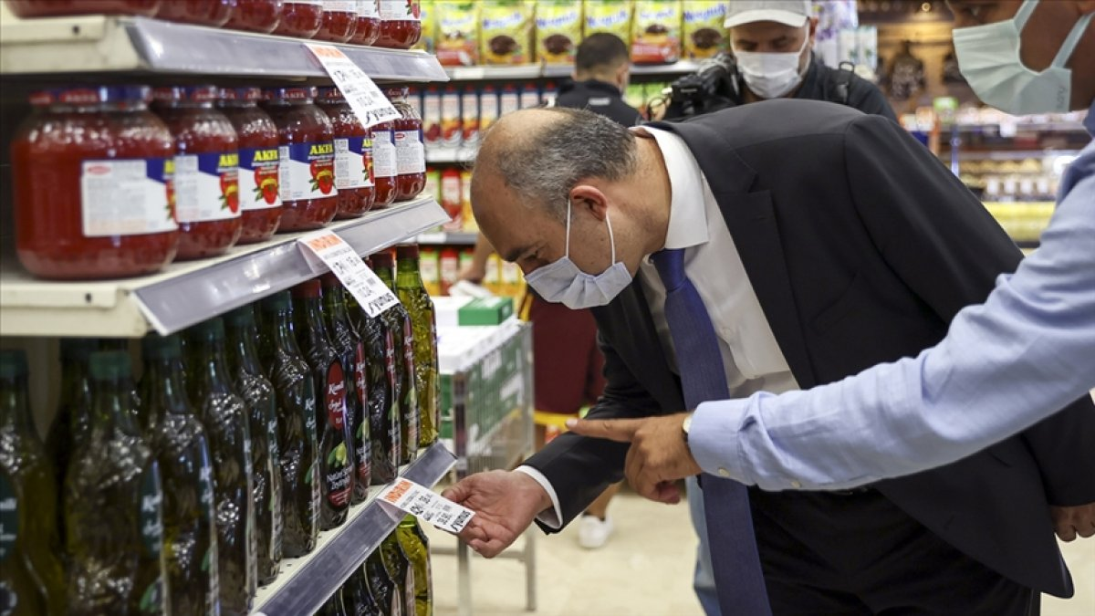 Erdoğan ın sözleri sonrası market ve hallerde denetimler başladı #3